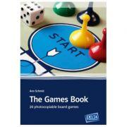 The Games Book. 20 photocopiable board games - Ann Schmid