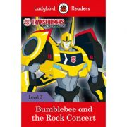 Transformers. Bumblebee And The Rock Concert