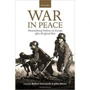 War in Peace: Paramilitary Violence in Europe after the Great War - Robert Gerwarth, John Horne