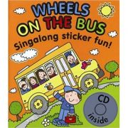Wheels on the Bus Singalong Sticker Book