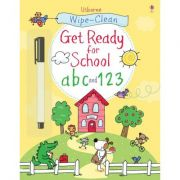Wipe-clean Get ready for school. ABC and 123 - Sam Taplin, Jessica Greenwell