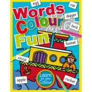 Words Colour Fun Book 2