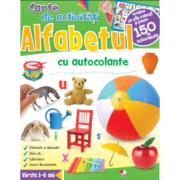 Alfabetul. Carte de activitati cu autocolante