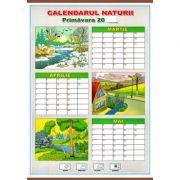 Calendarul naturii. Primavara/Toamna - Plansa dubla (CP10)