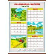 Calendarul naturii. Vara/Iarna - Plansa dubla (CP9)