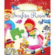 Carte cu puzzle - Scufita Rosie