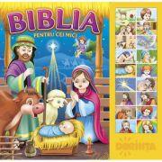 Carte cu sunete. Biblia pentru cei mici