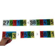 Cifre - Carduri magnetice pentru activitati matematice (MC70W)