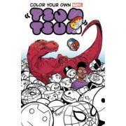 Color Your Own Marvel Tsum Tsum - David Baldeon
