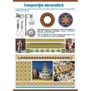 Plansa decorativa - Compozitia decorativa/ Cercul lui Newton (AP1)