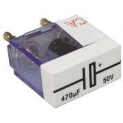 Condensator 470 uF- Tensiunea electrica: 50V