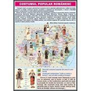Costumul popular / In Delta Dunarii (DUO) - Plansa cu 2 teme distincte (CP8)