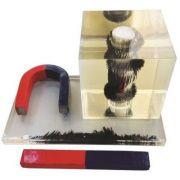 Dispozitiv pentru observarea liniilor de camp magnetic (la lichide)