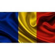 Drapel tricolor ROMANIA (1350x900mm/110) - poliester cu microperforatii