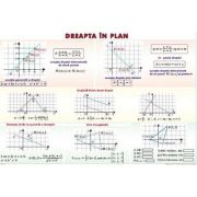 Dreapta in plan/ Conice - Plansa dubla (MP17)