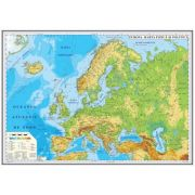 Europa. Harta fizica si politica 700x500mm (GHEF70-L)