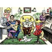 Familia - Plansa educativa
