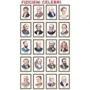 Fizicieni celebri - set de 20 portrete color, inramate, 285x385mm (FZ-PT-CD)