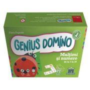Genius domino. Multimi si numere de la 1 la 10 - Flavio Fogarolo