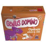 Genius domino. Operatii pana la 100 - Flavio Fogarolo