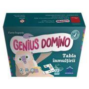 Genius domino. Tabla inmultirii - Flavio Fogarolo