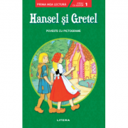 Hansel si Gretel. Poveste cu pictograme. Citesc cu ajutor, nivelul 1