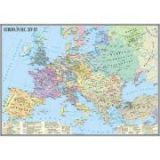 Harta Europa in sec. XIV-XV (IHMED7G)