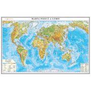 Harta fizica a lumii 700x500mm (GHLF70-L)