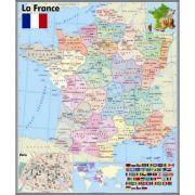 Harta murala La France - Plansa (FP0)