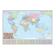 Harta politica a lumii 700x500mm (GHLP70-L)
