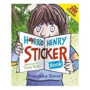 Horrid Henry Sticker Book - Francesca Simon