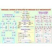 Inecuatii, sisteme, totalitati de inecuatii/Corpuri rotunde - Plansa fata-verso (MP14)
