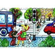La semafor - Plansa educativa