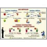 Plansa dubla - Les Articles/ Adjectifs et Pronoms Demonstratifs (FP9)