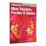 Mind Twisters, Puzzles & Games - Anna Southern, Adrian Wallwork