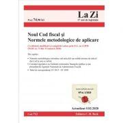 Noul Cod de procedura fiscala si Normele metodologice de aplicare. Cod 712. Actualizat la 05. 02. 2020