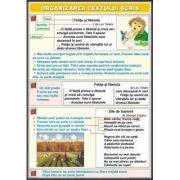 Organizarea textului scris/Obiectele elevului (DUO) - Plansa cu 2 teme distincte (CP5)