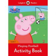 Peppa Pig Playing Football Activity Book
