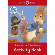 Peter Rabbit Goes To The Treehouse Activity Book