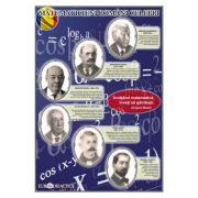 Plansa - Matematicieni romani celebri
