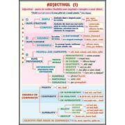 Plansa dubla - Adjectivul/ Atributul (LR6)