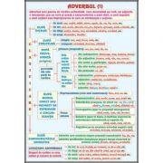 Plansa dubla - Adverbul/ Conjunctia (LR14)