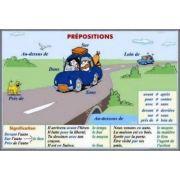Plansa dubla - Prepositions/ Pronoms personnels (FP10)