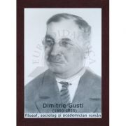 Portret - Dimitrie Gusti, filosof, sociolog si academician roman(PT-DG)
