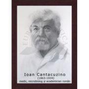 Portret - Ioan Cantacuzino, medic, microbiolog, academician roman (PT-IC)