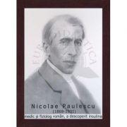 Portret - Nicolae Paulescu, medic si fiziolog roman, a descoperit insulina (PT-NP)