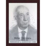 Portret - Octav Onicescu, matematician si academician roman (PT-OO)