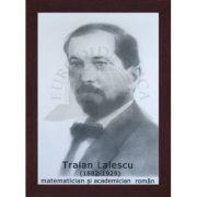 Portret - Traian Lalescu, matematician si academician roman (PT-TL)