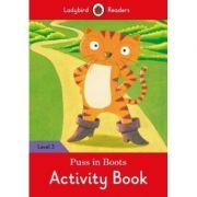 Puss in Boots Activity Book. Ladybird Readers Level 3