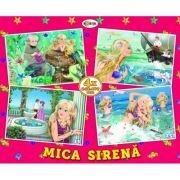 Puzzle Mica Sirena. 4 imagini